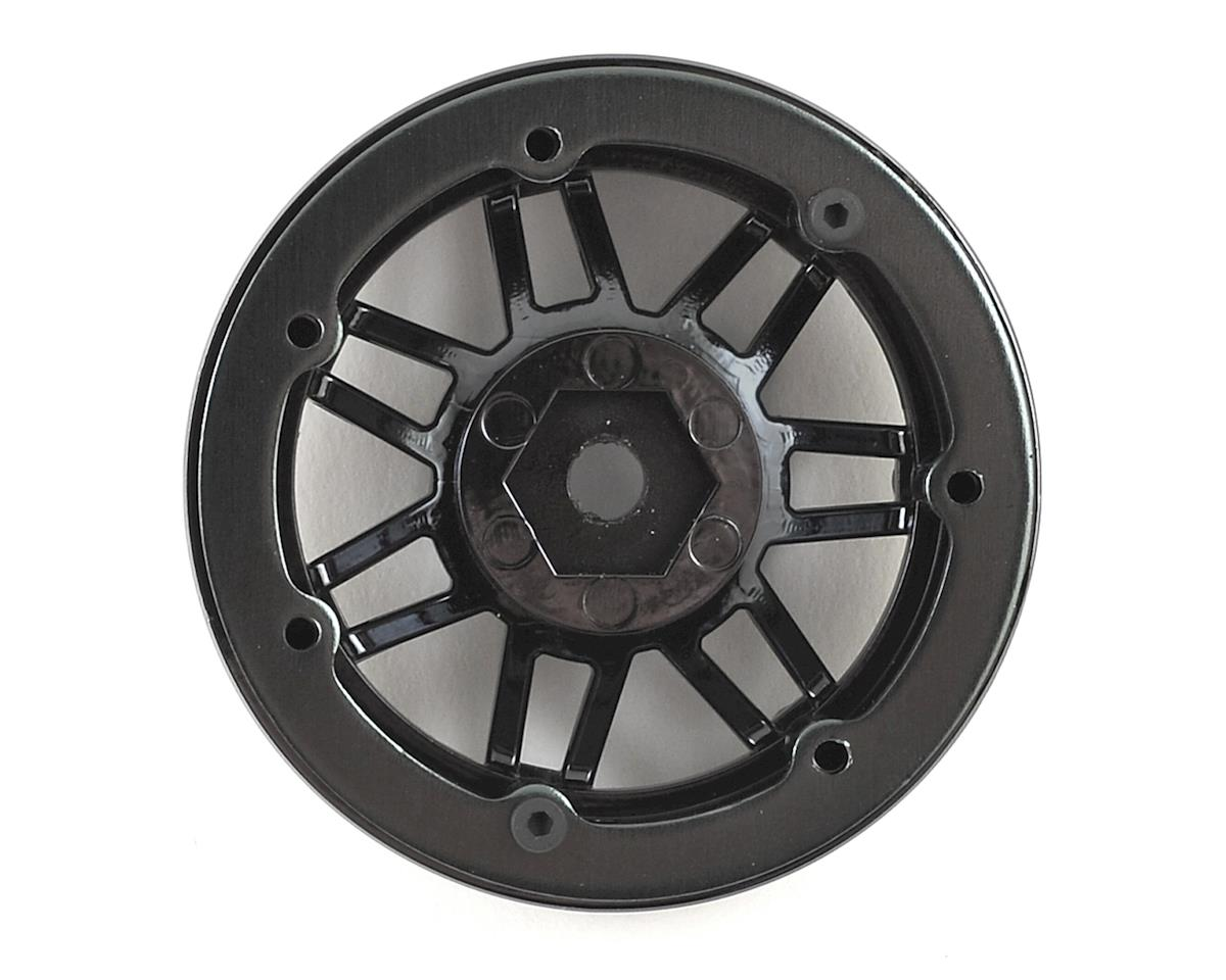 Pit Bull Tires Raceline #931 Injector 1.9 Beadlock Wheel (Gun Metal/Black) (2)