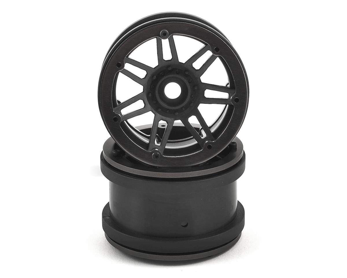 Raceline #931 Injector 2.2 Beadlock Wheel (Black/Black) (2) by Pit Bull Tires