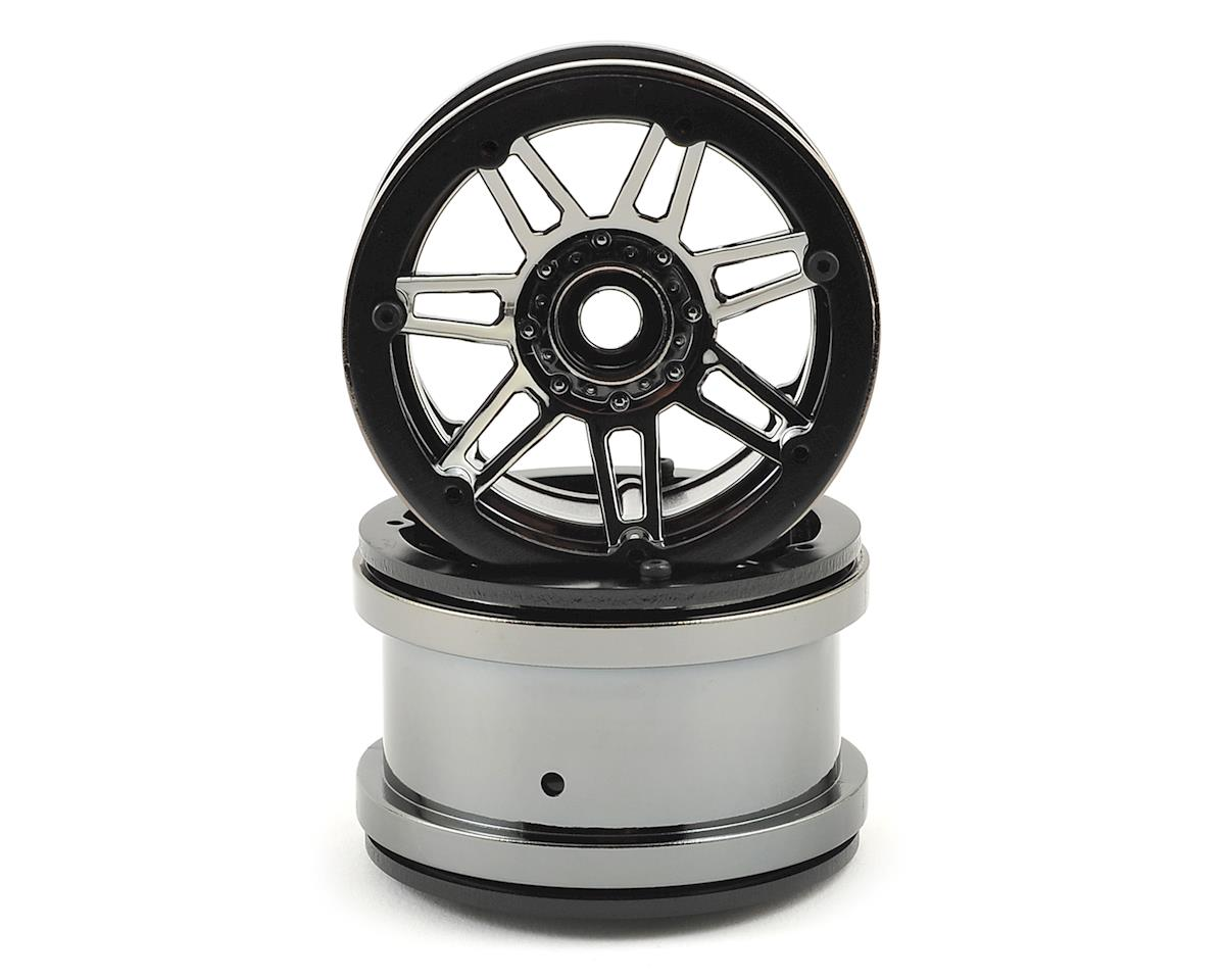 Raceline #931 Injector 2.2 Beadlock Wheel (Gun Metal/Black) (2) by Pit Bull Tires