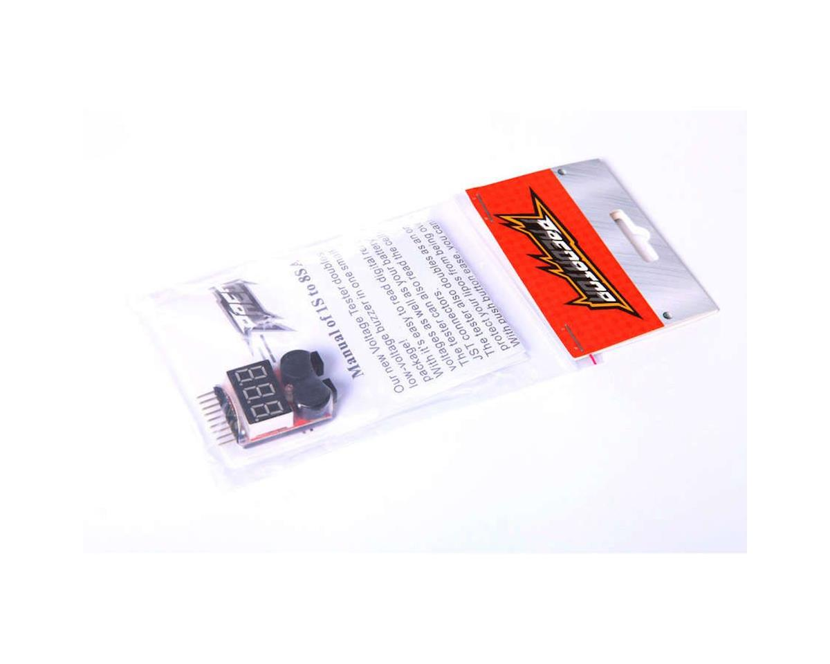 LiPo Voltage Tester: 1 to 8 Cell by Predator