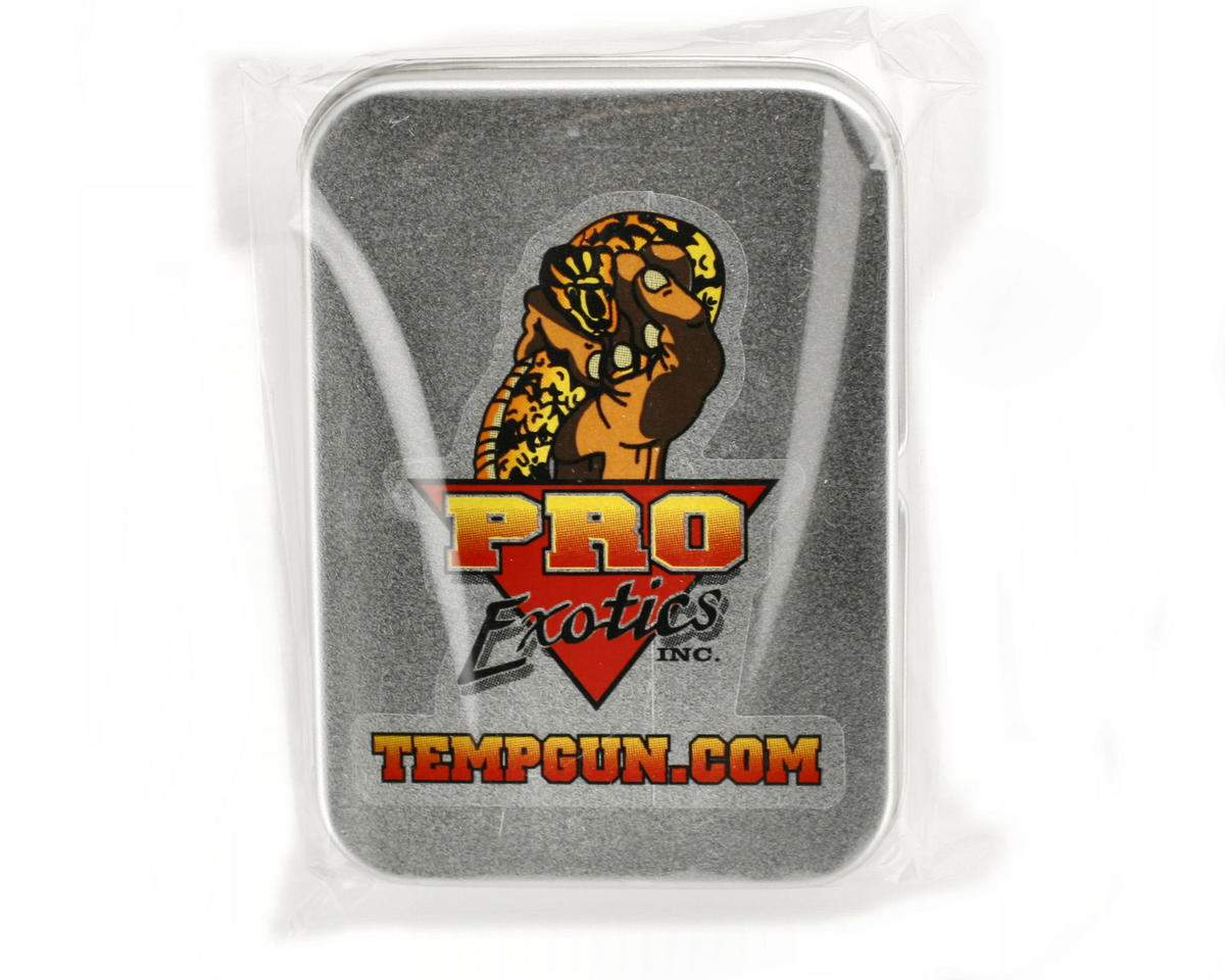 Pro Exotics PE-1 Temp Gun Metal Case w/Spare Battery