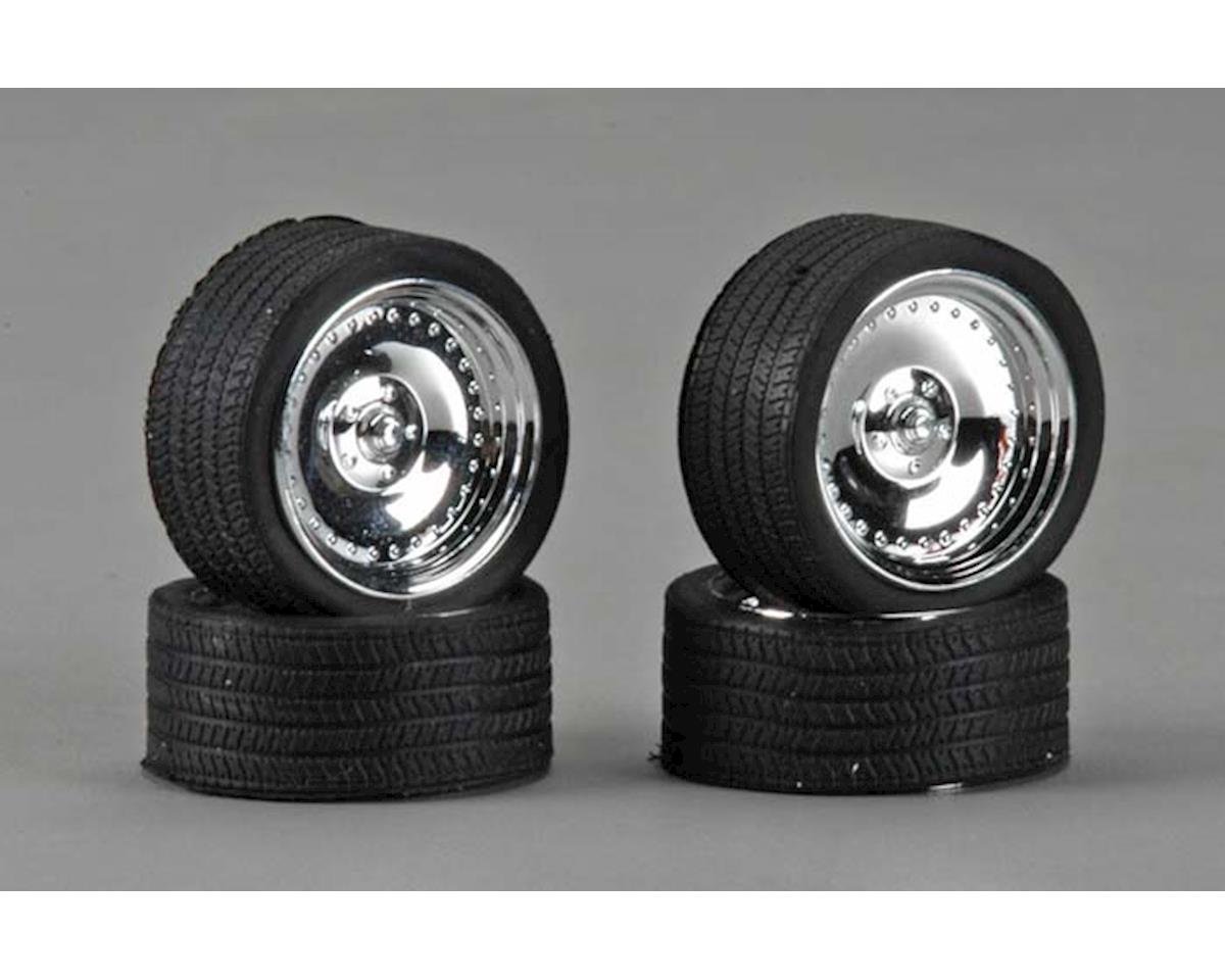 "Pegasus Hobbies 2311 23"" CL's w/Tires Chrome (4)"
