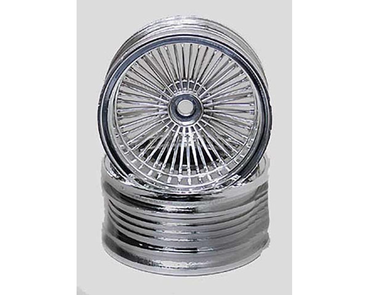 3001 1/10 Chrome Wire Rims (2) by Pegasus Hobbies [PGH3001] - HobbyTown