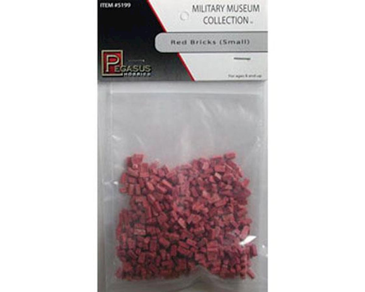 Multi-Scale Small Red Bricks (Resin)