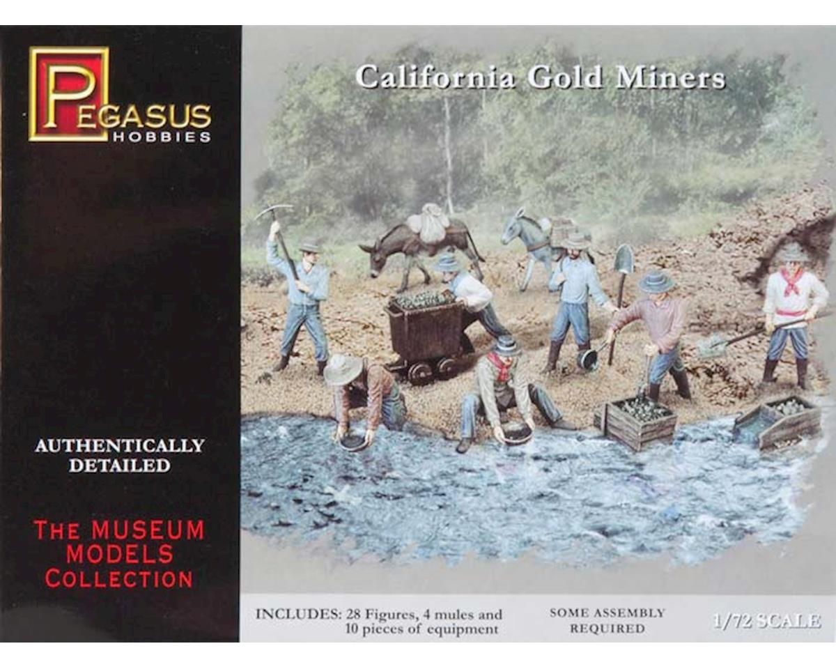 7050 1/72 California Gold Miners