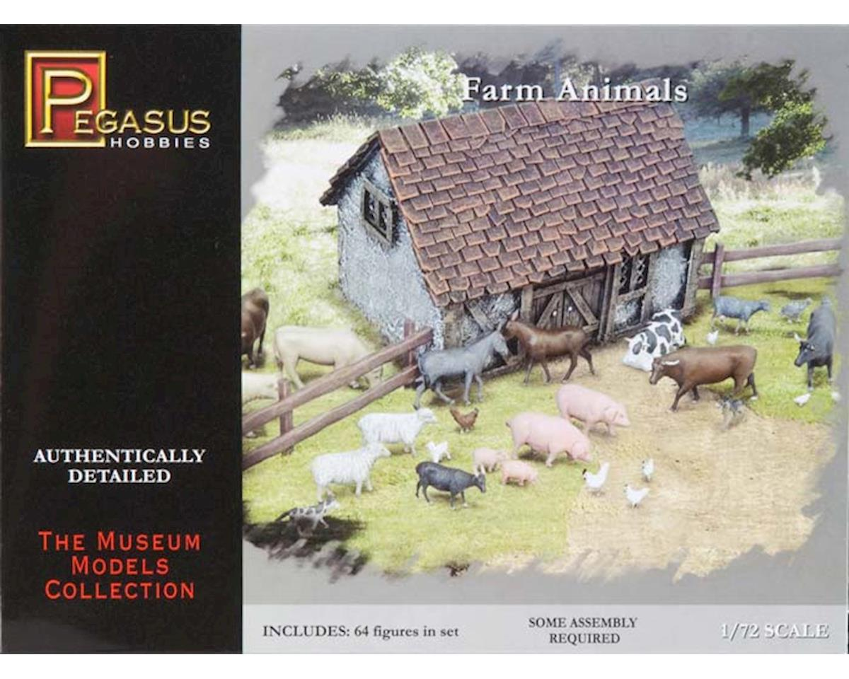 Pegasus Hobbies 7052 1/72 Farm Animals