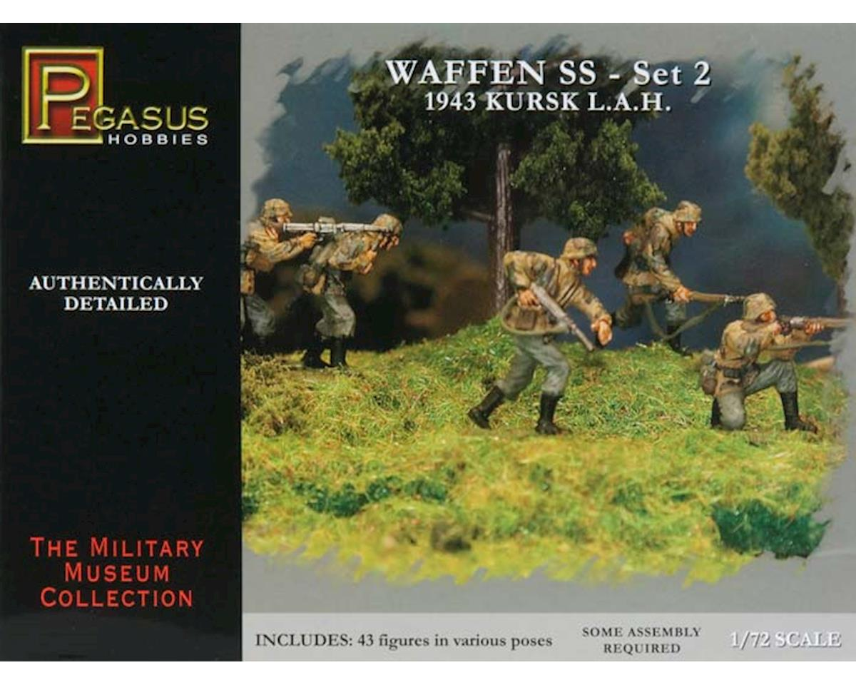 7202 1/72 German Waffen SS Set 2 by Pegasus Hobbies