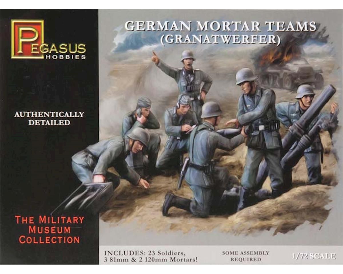 7204 1/72 German Mortar Set by Pegasus Hobbies