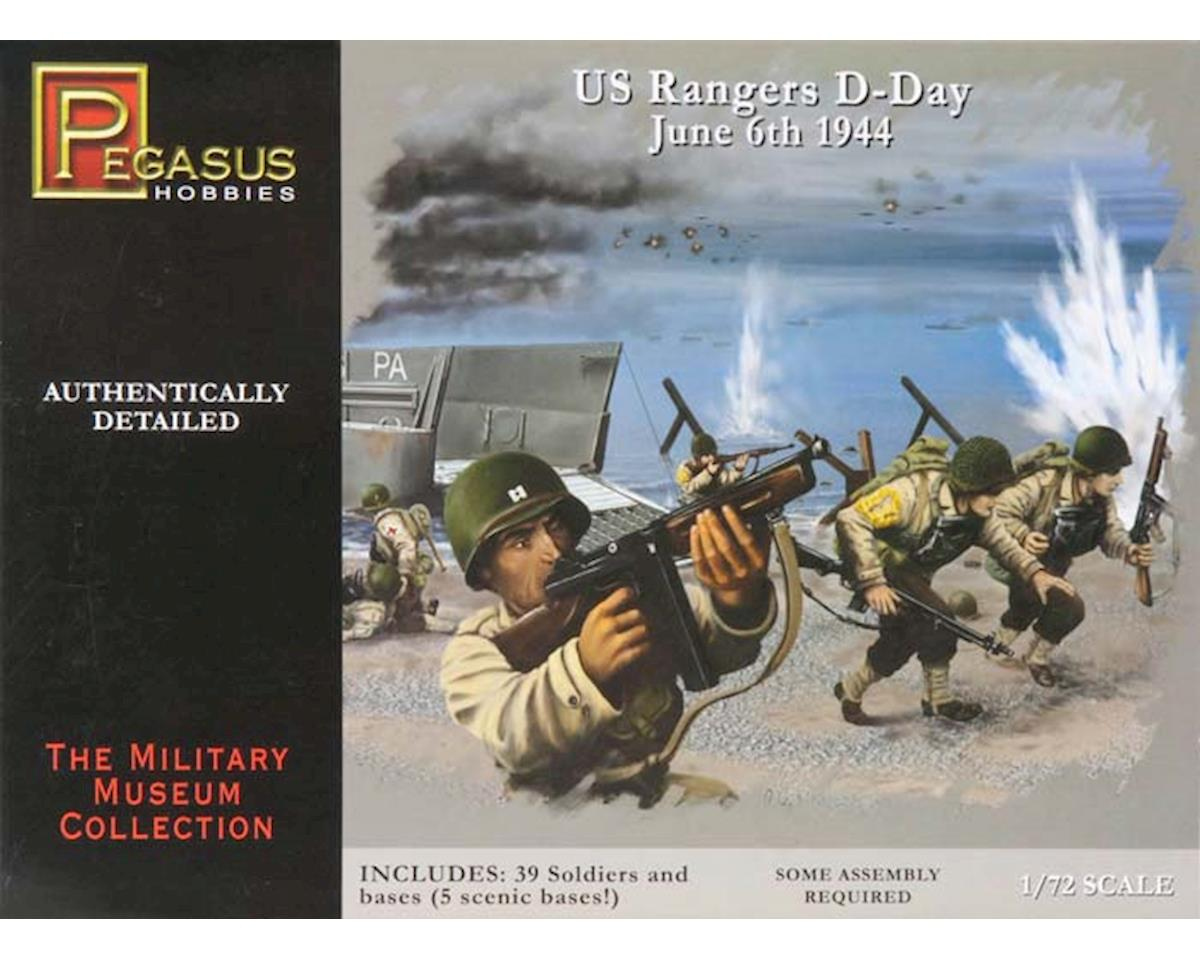 Pegasus Hobbies 7351 1/72 U.S. Rangers D-Day June 6th 1944