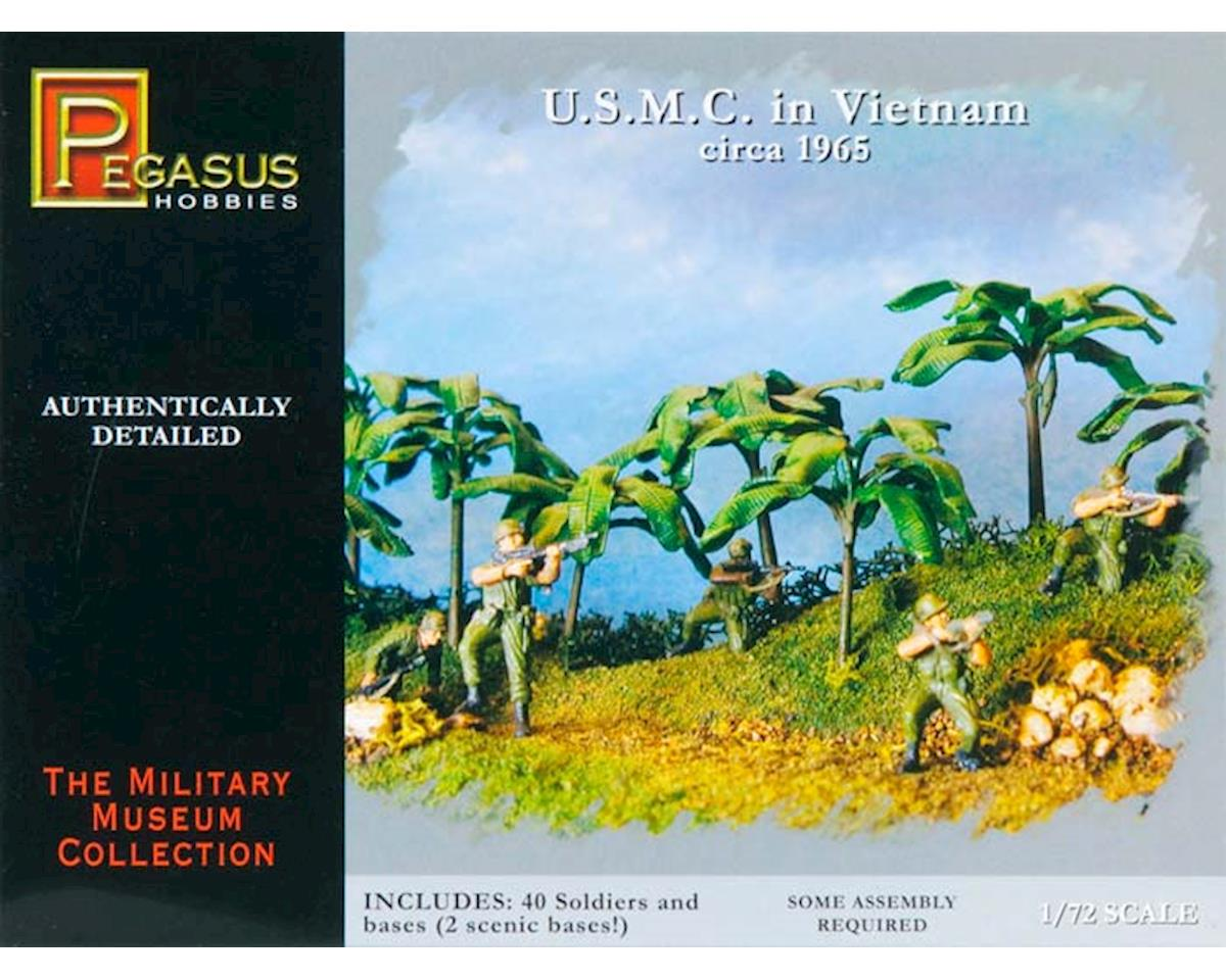 Pegasus Hobbies 7401 1/72 USMC in Vietnam 1965