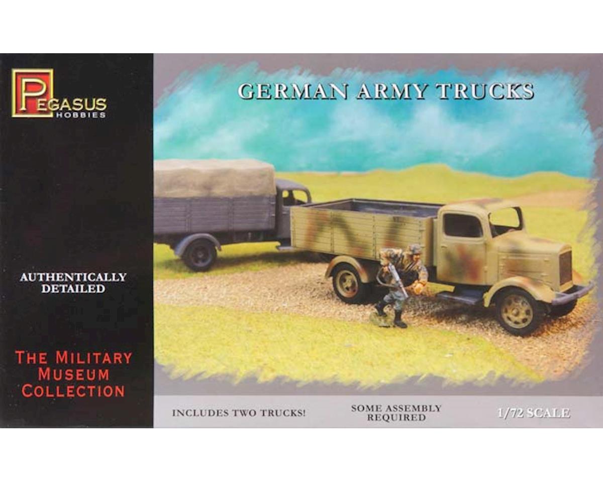 7610 1/72 German Army Trucks (2) by Pegasus Hobbies