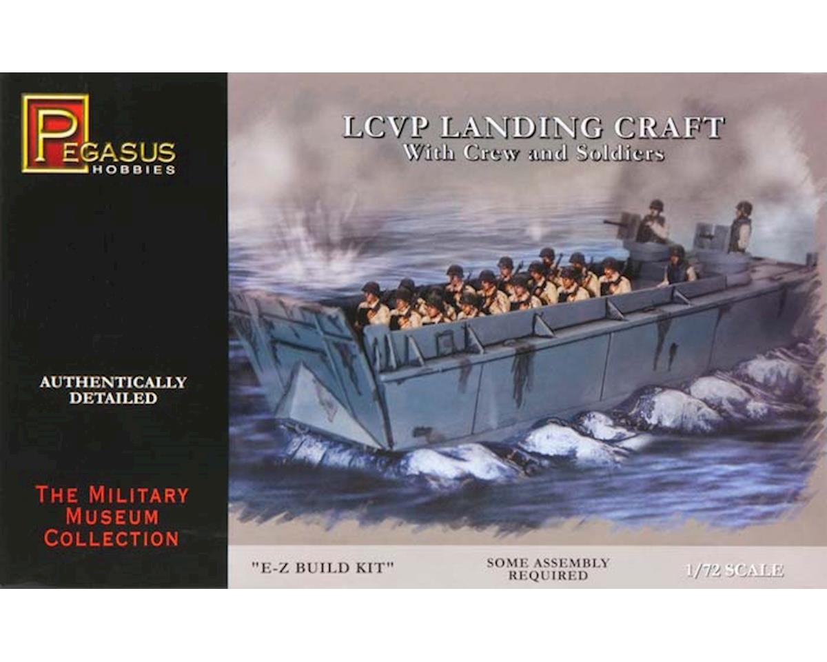 7650 1/72 LCVP Landing Craft w/Soldiers by Pegasus Hobbies