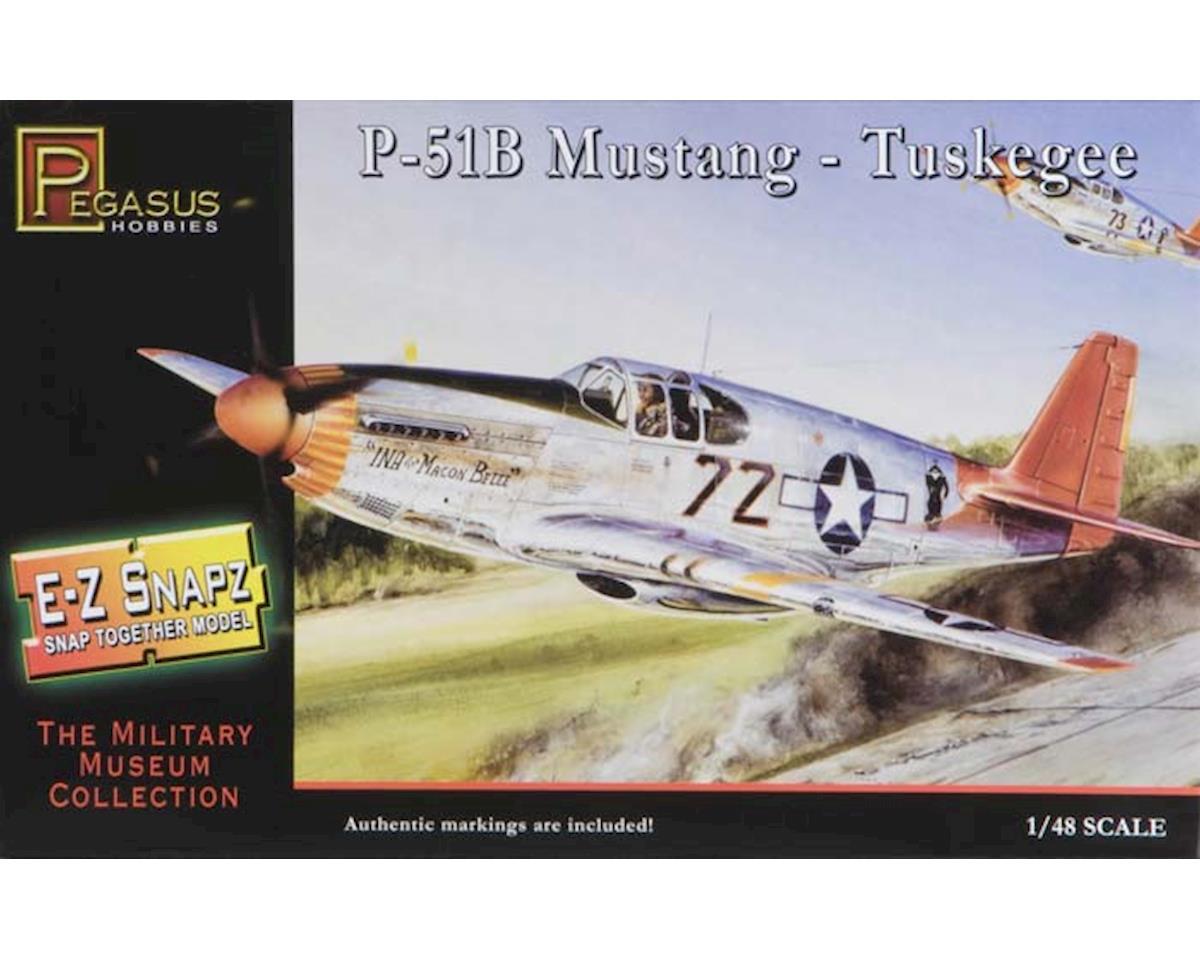 1/48 P-51B Mustang Tuskegee E-Z Snap by Pegasus Hobbies