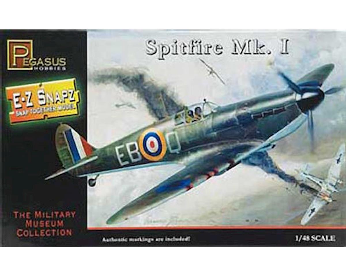 Pegasus Hobbies  1/48 Spitfire Mki E-Z Snap