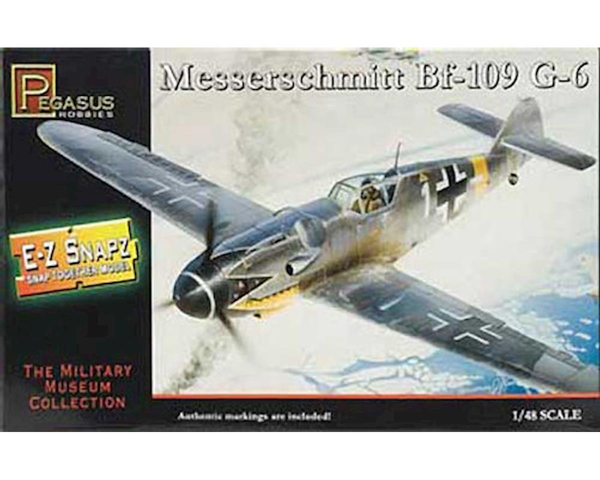 Pegasus Hobbies  1/48 Messerschmitt Bf-109G6 E-Z Snap