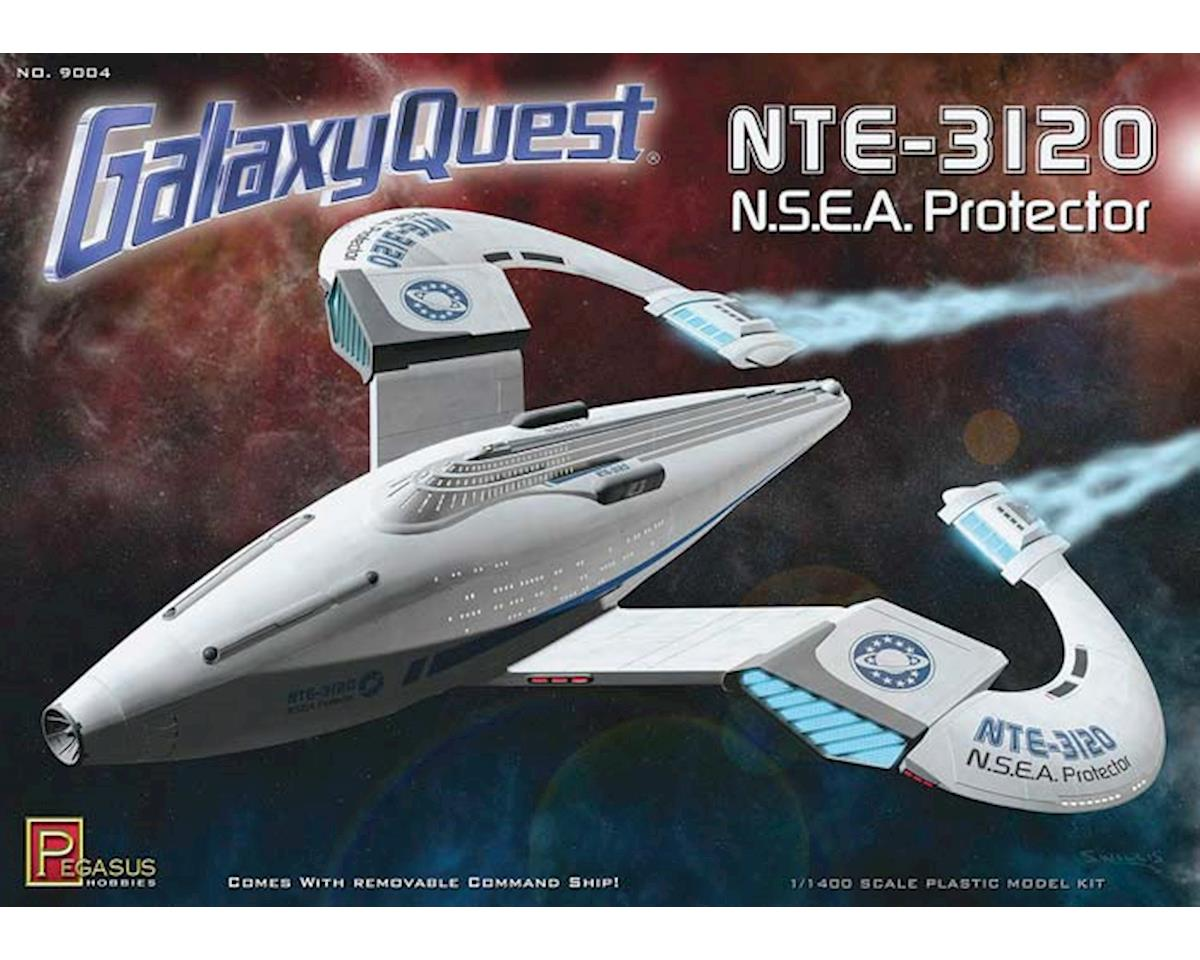 Pegasus Hobbies 9004 1/400 Galaxy Quest NSEA Protector Kit