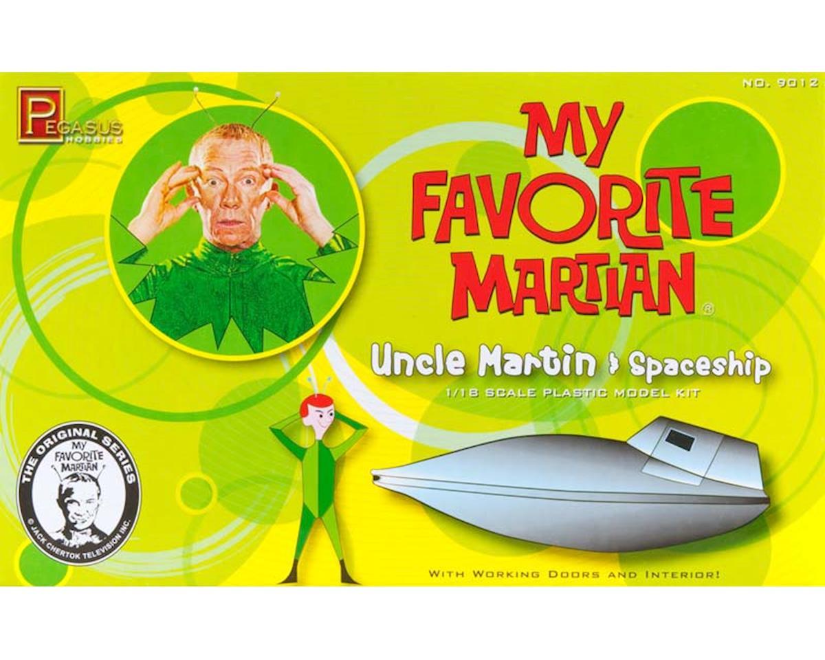 9012 1/18 My Favorite Martian Uncle Martin/Spaceship
