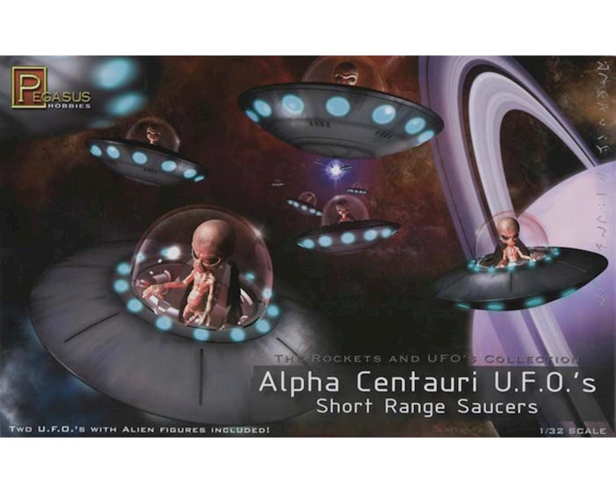 Pegasus Hobbies  1/32 Alpha Centauri Ufo Short Range Saucers