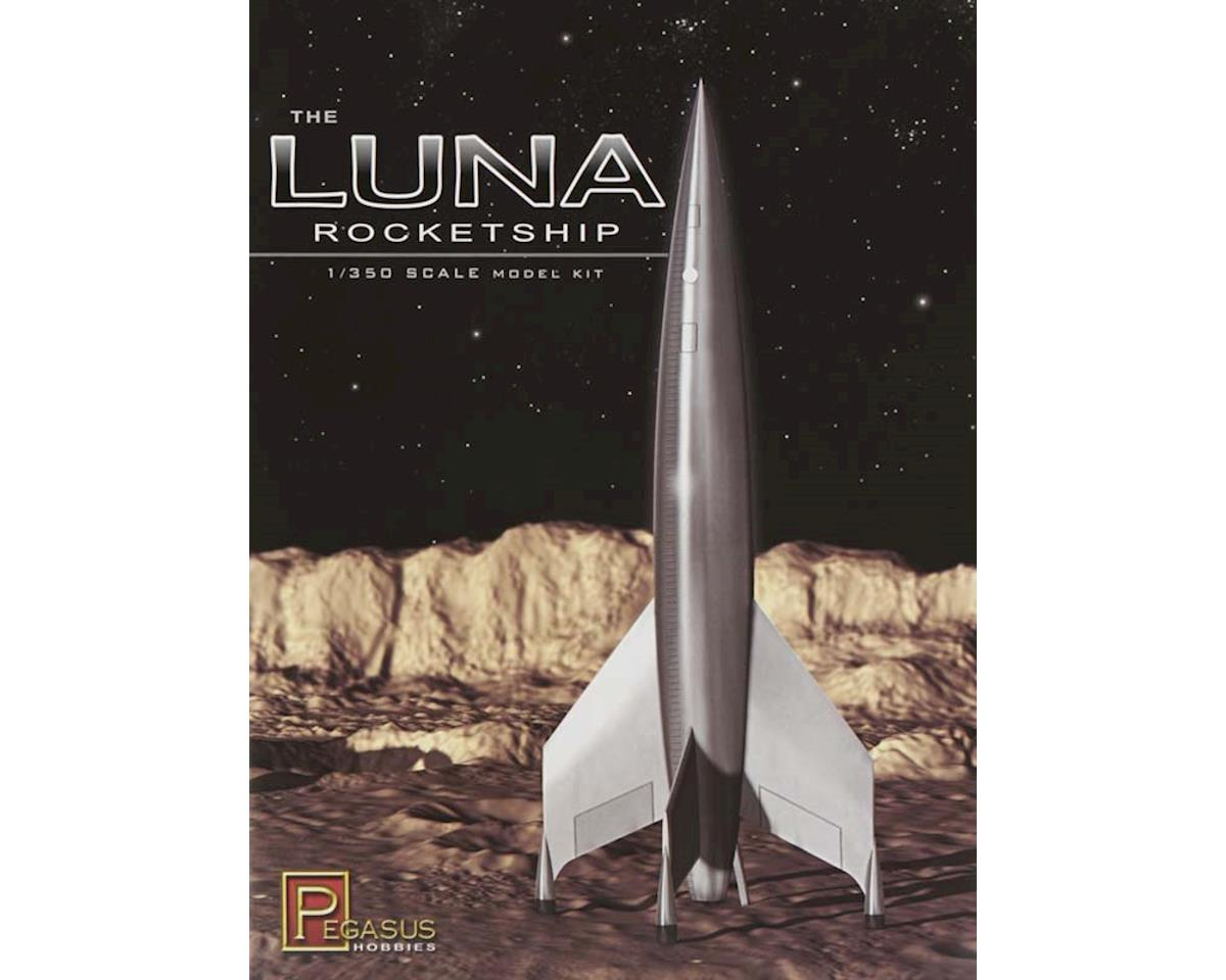 Pegasus Hobbies 1/350 Luna Rocketship