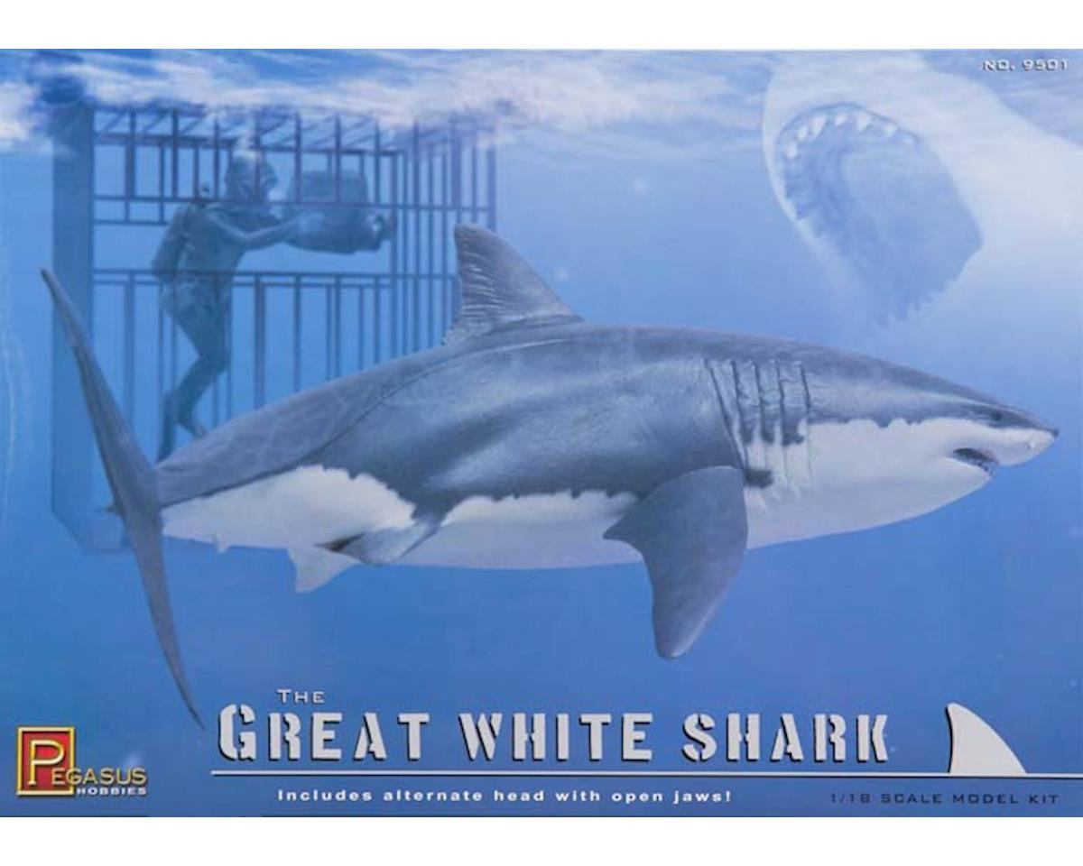 Pegasus Hobbies 9501 1/18 The Great White Shark