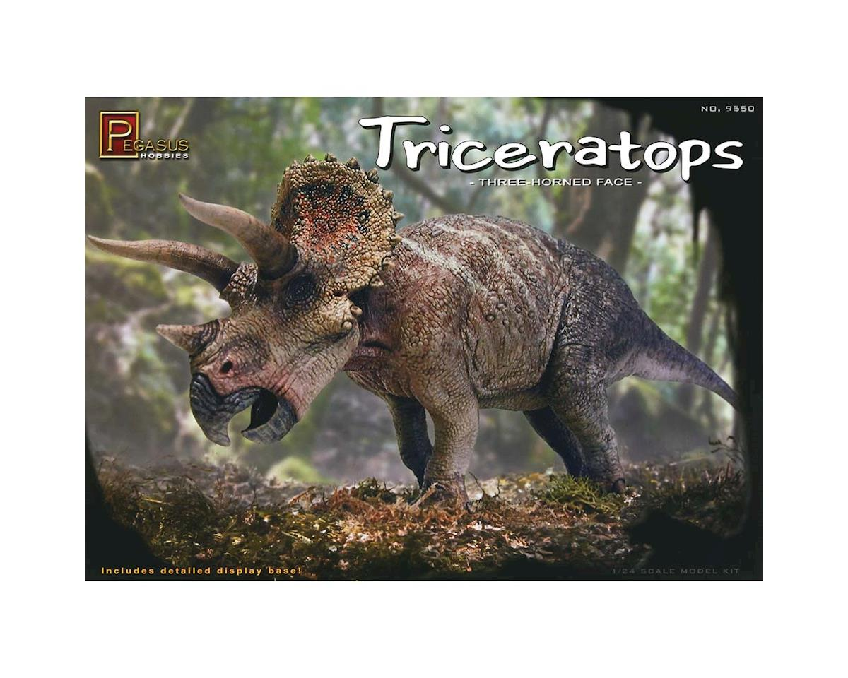 9550 1/24 Triceratops by Pegasus Hobbies