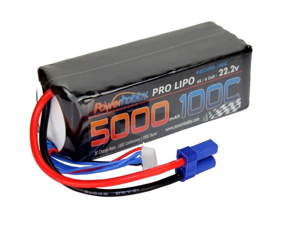 Power Hobby 5200mAh 22.2V 6S 100C LiPo Battery w/ EC5 Connector