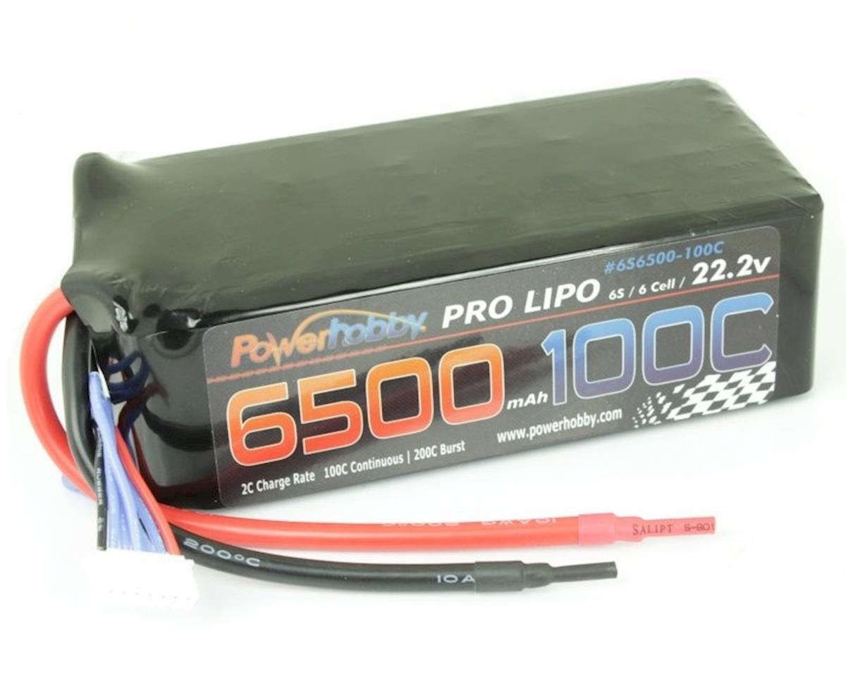 Power Hobby 6500mAh 22.2V 6S 100C  LiPo Battery (no connector)