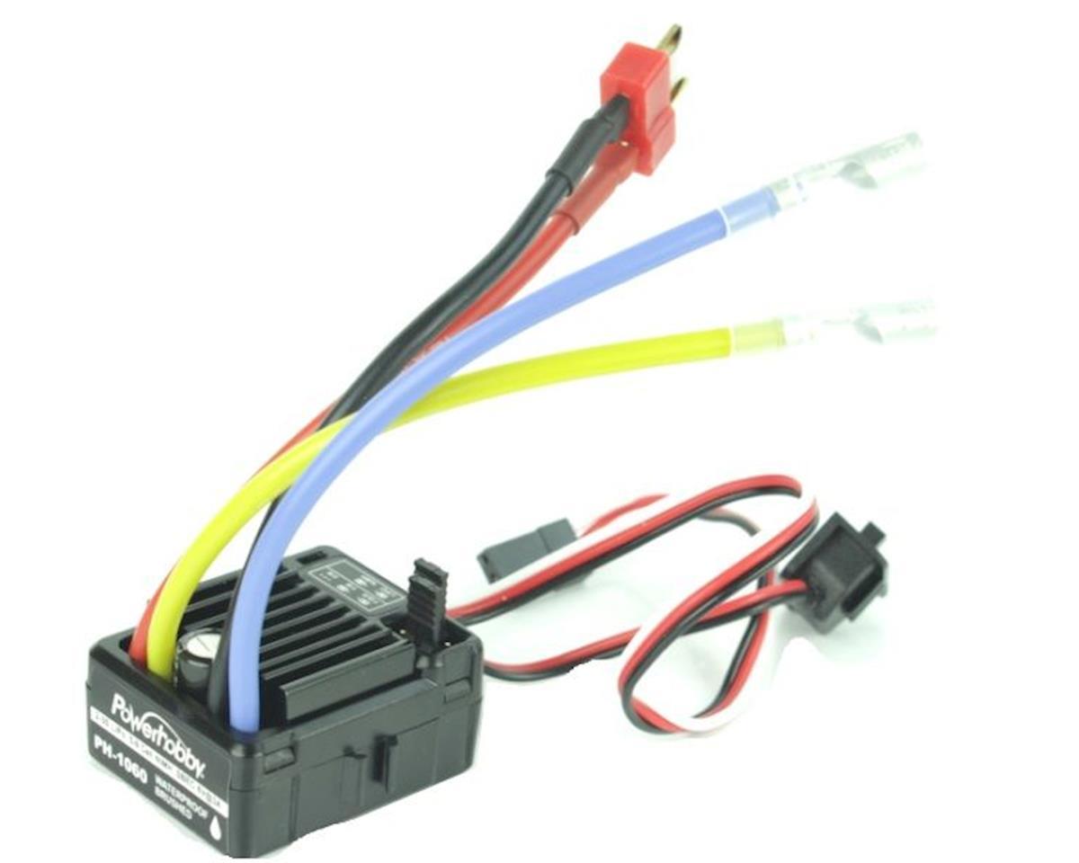 Power Hobby PH-1060 Waterproof Brushed Crawker ESC (2-3s)