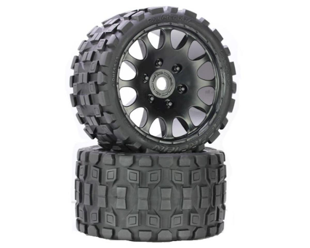 Power Hobby Scorpion Belted Monster Truck Wheel / Tires (pr.) - Race