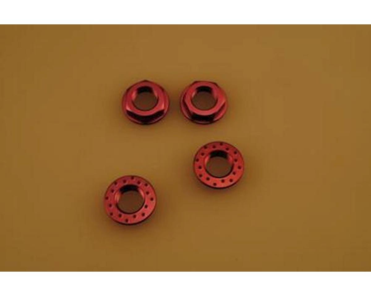 Patriot 3767 17mm Purple Flanged Locking Wheel Nut by Patriot Hobbies Unlimited