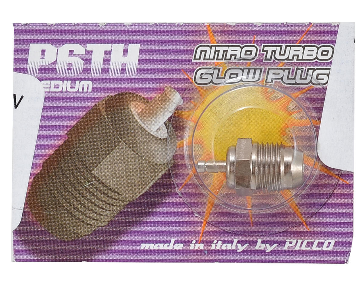 Picco P6TH Off-Road Turbo Glow Plug (Medium)