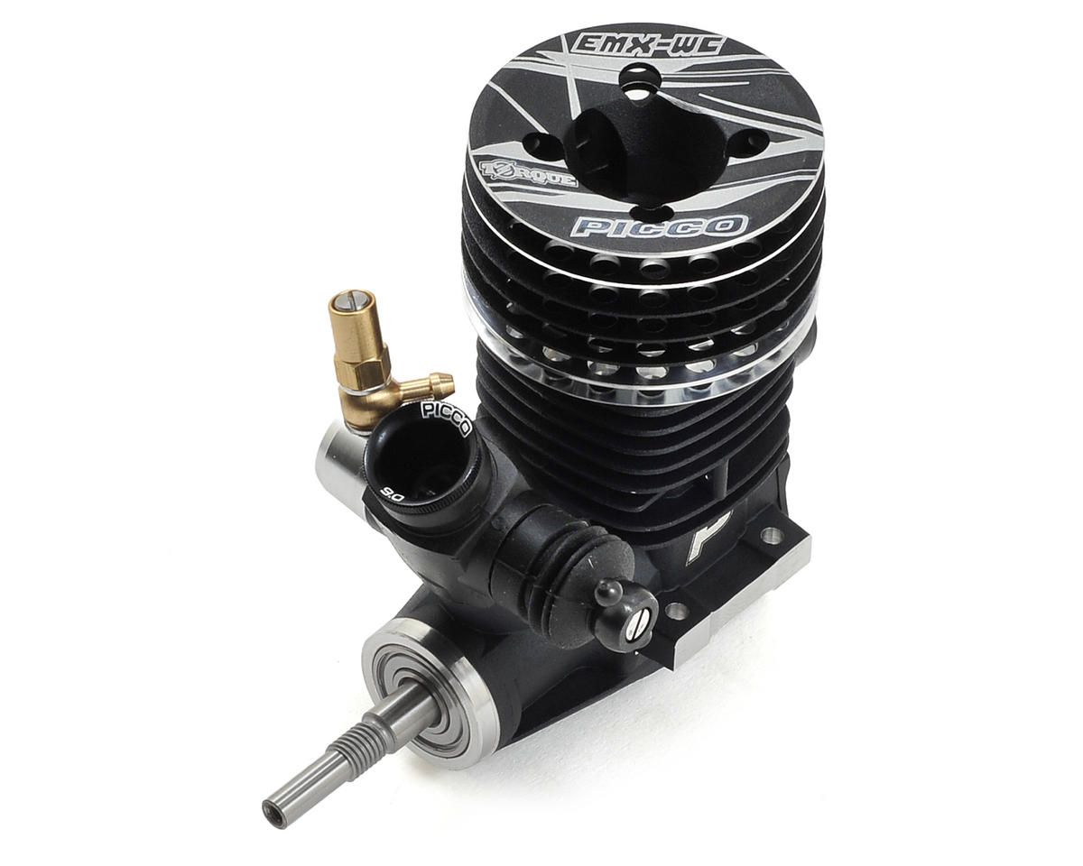 Torque .21 EMX-WC 9-Port On-Road Nitro Engine (Turbo Plug) by Picco