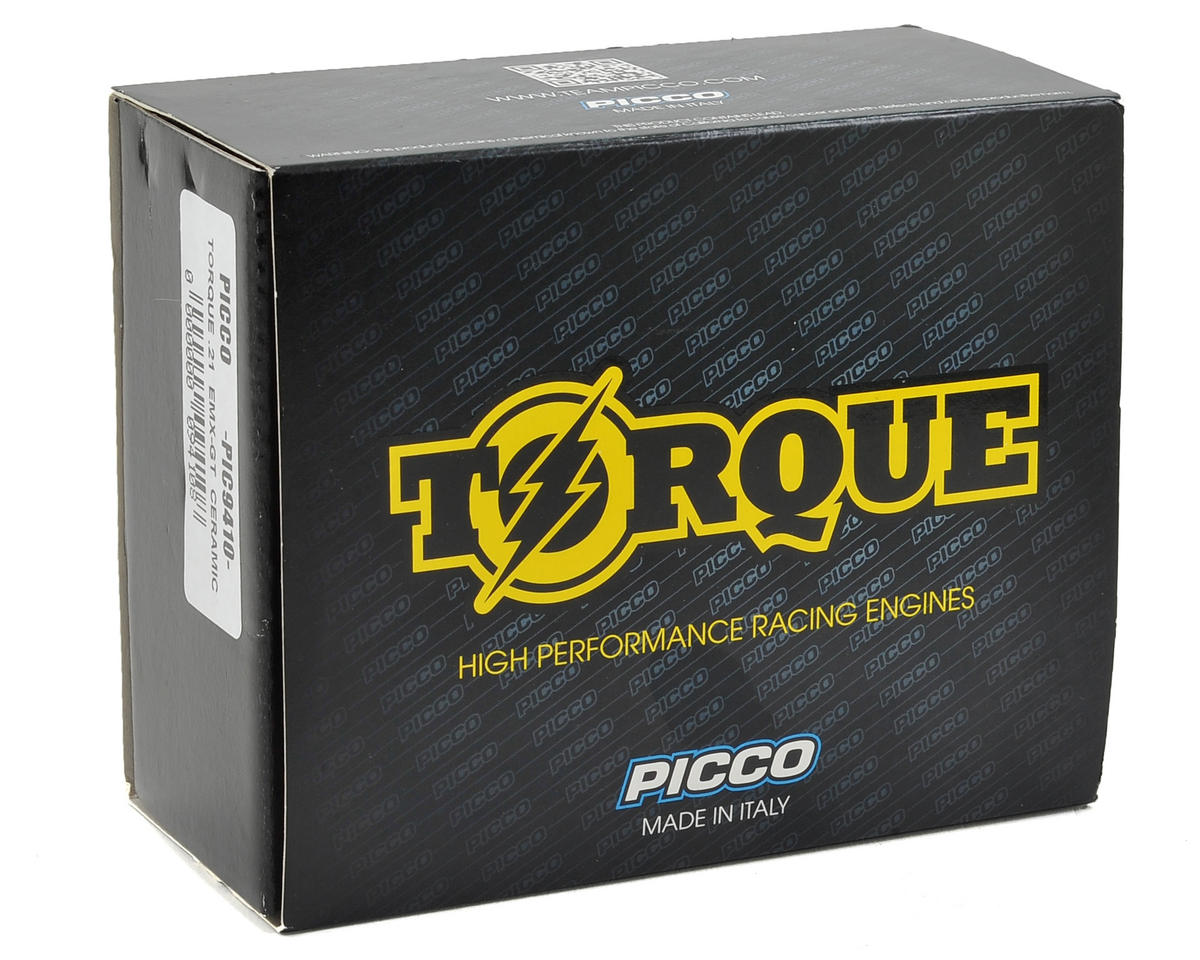 Picco Torque EMX-GT CER .21 5-Port GT Engine w/Ceramic Bearing (Turbo Plug)