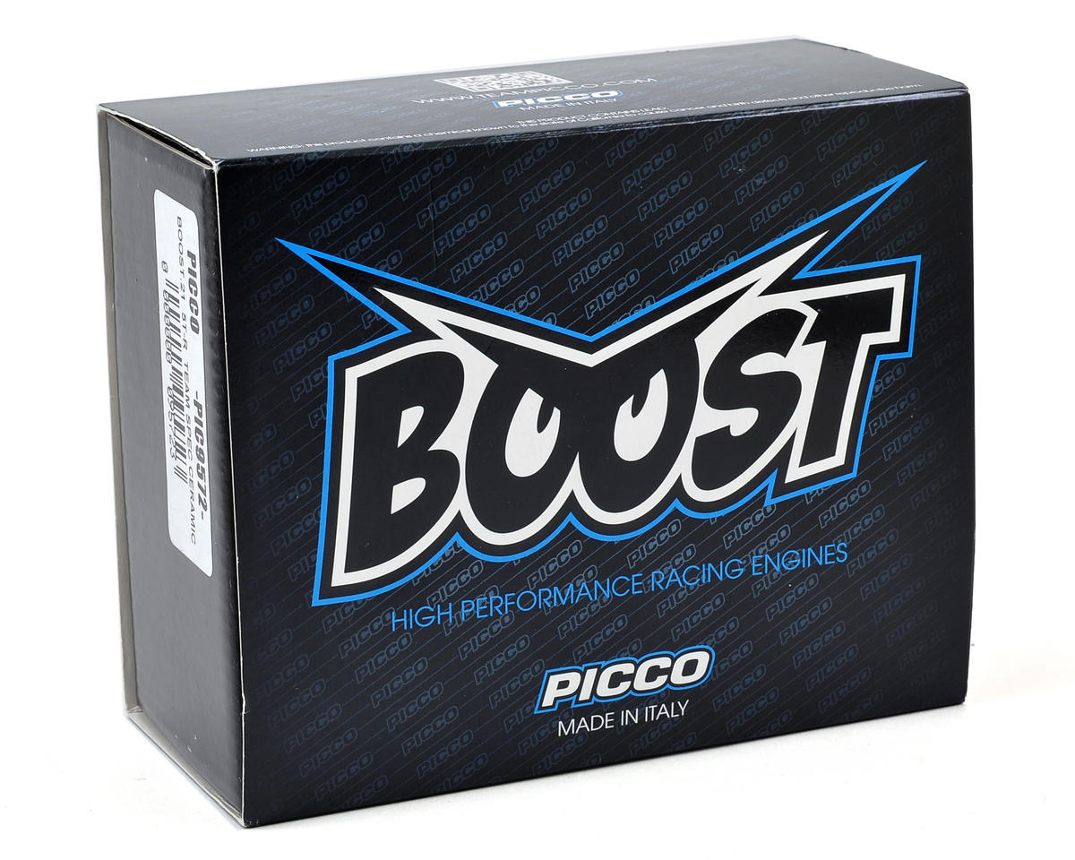 Picco Boost 5TR Team Spec Ceramic .21 Off Road Engine (Turbo Plug)