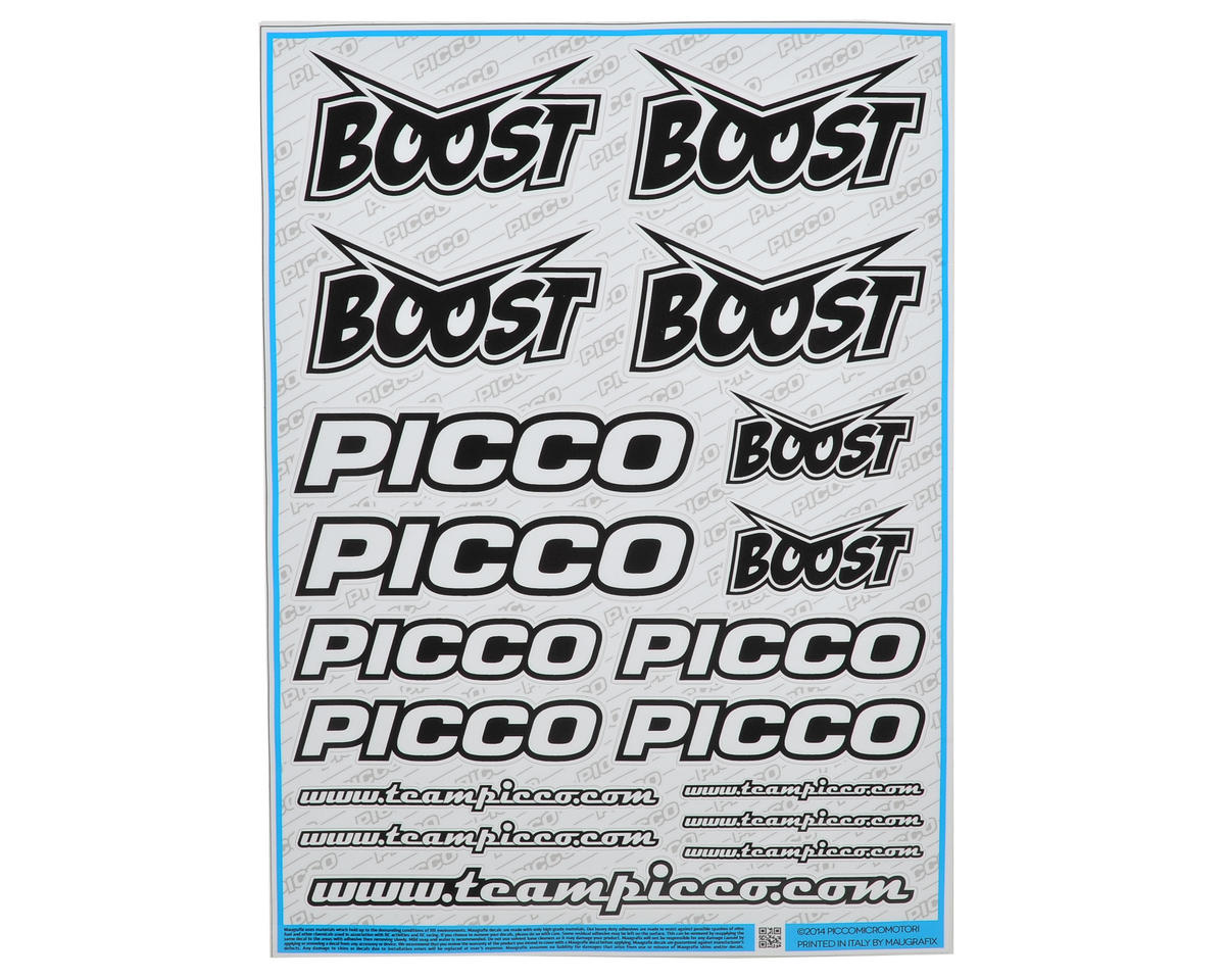 Picco Boost Racing Decal Sheet