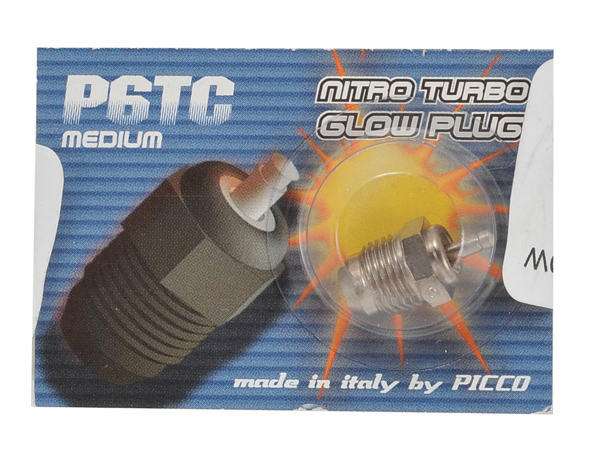 P6TC On-Road Turbo Glow Plug (Medium) by Picco