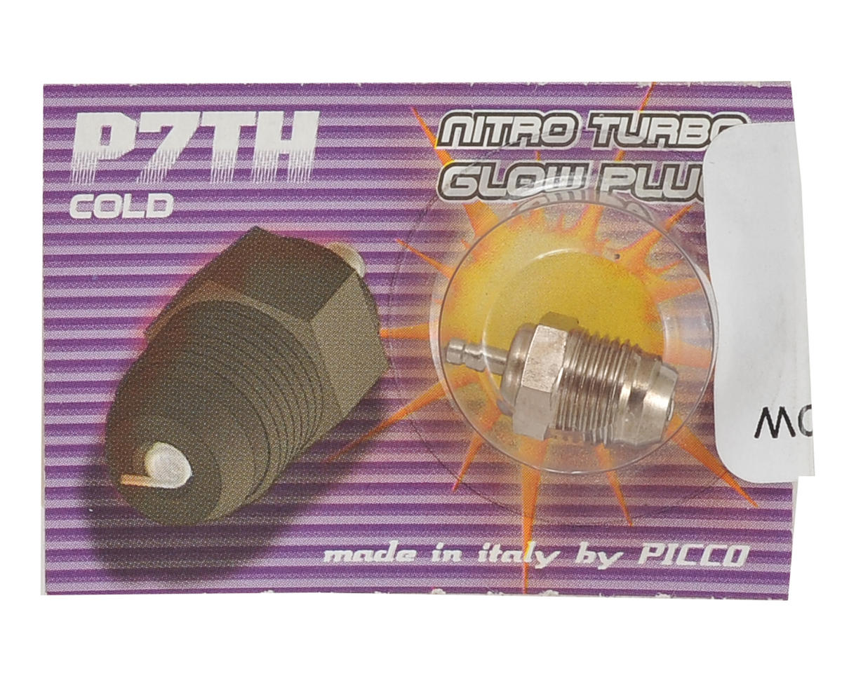 Picco P7TH Off-Road Turbo Glow Plug (Cold)