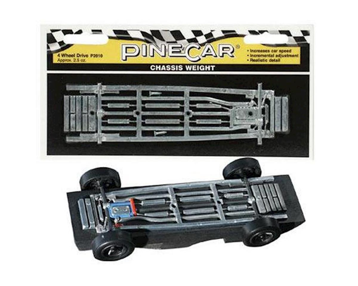 PineCar FR Wheel Chassis Weight