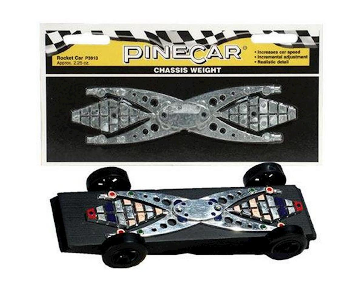 Rocket Car Chassis Weight by PineCar