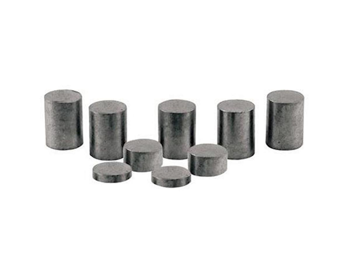 Tungsten Incremental Weights, 2 oz. Plates by PineCar