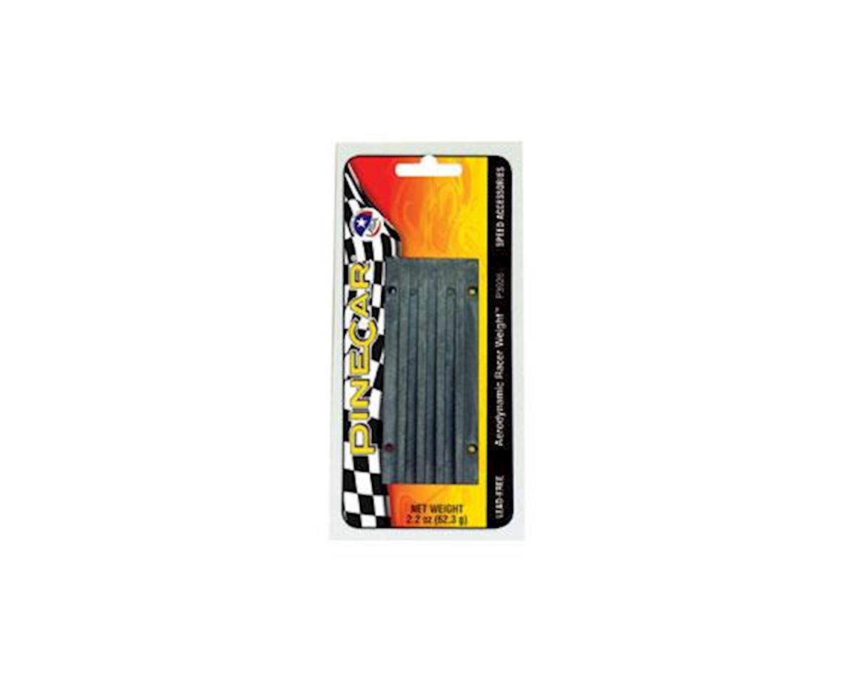 PineCar Aerodynamic Weight, 2.2 oz