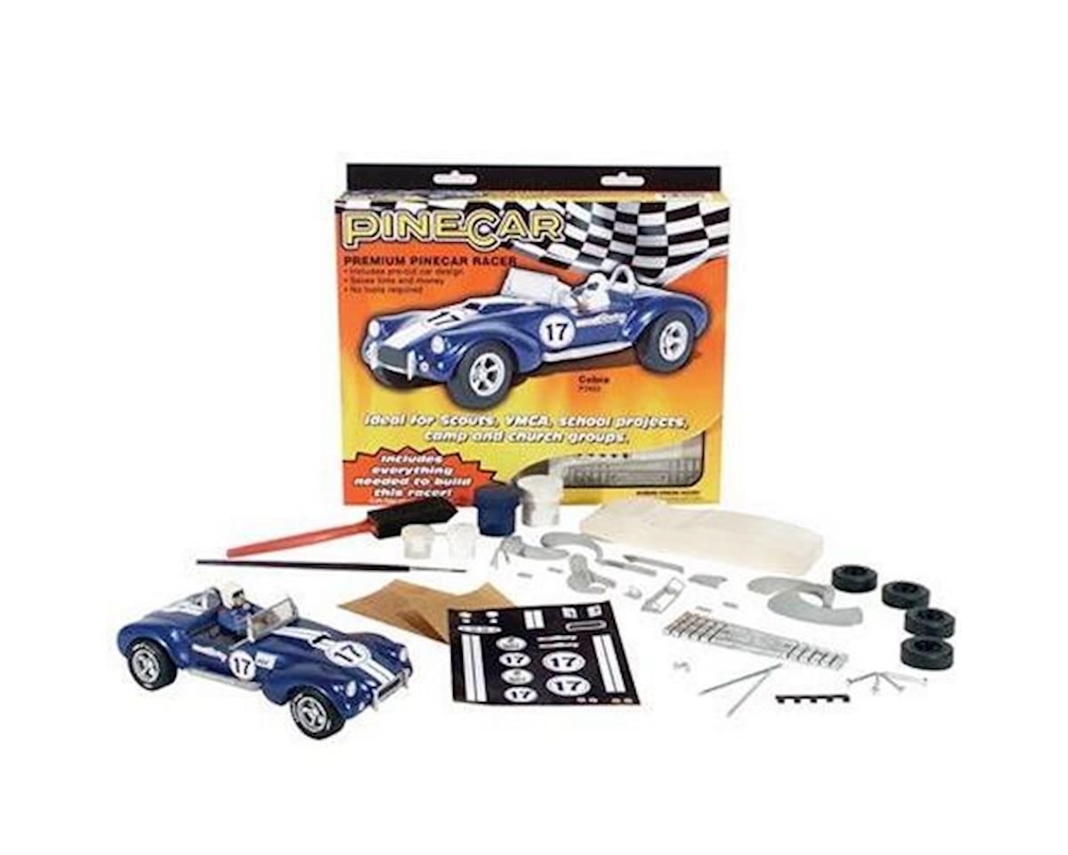 PineCar Premium Blue Venom Racer Kit | relatedproducts