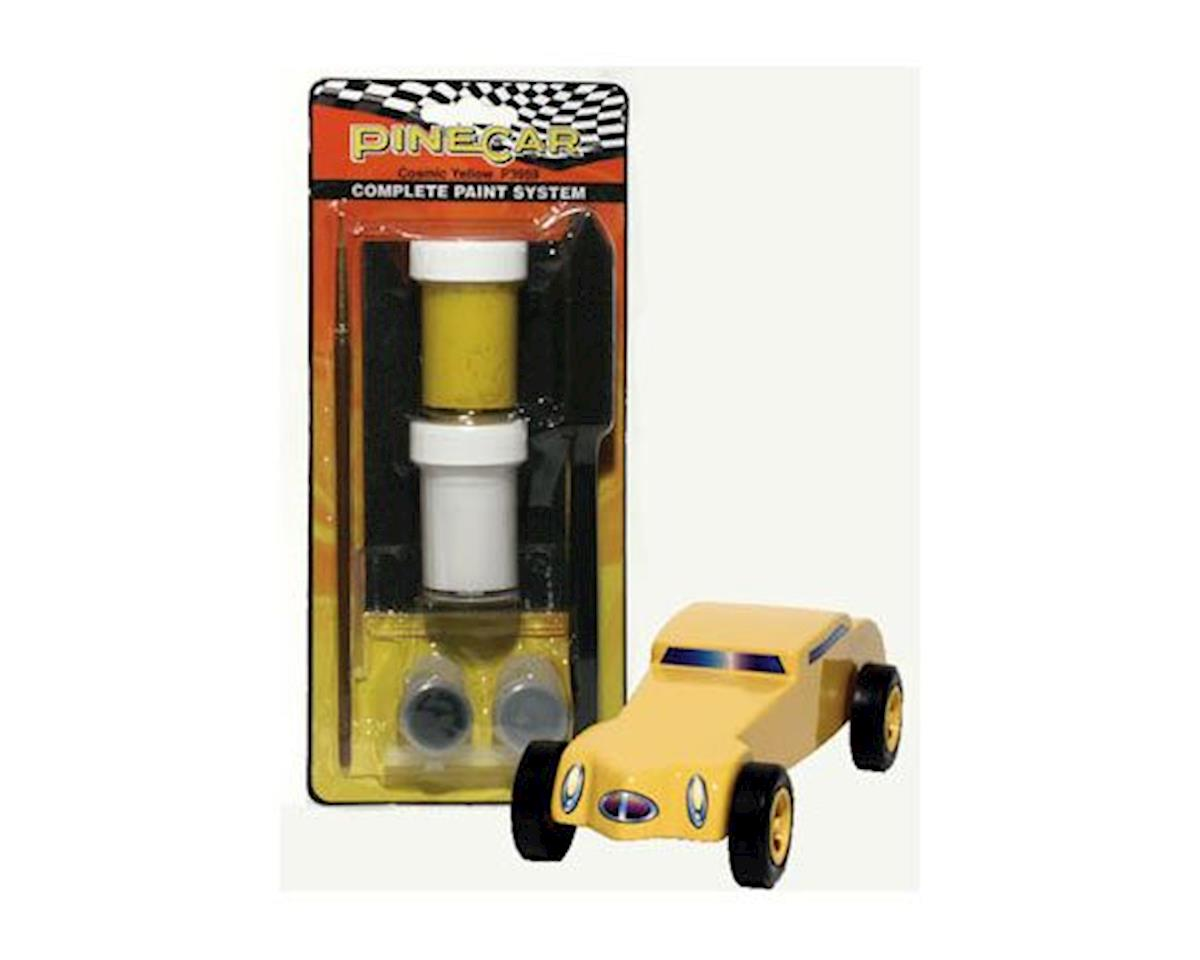 Pinecar Cosmic Yellow Complete Paint System