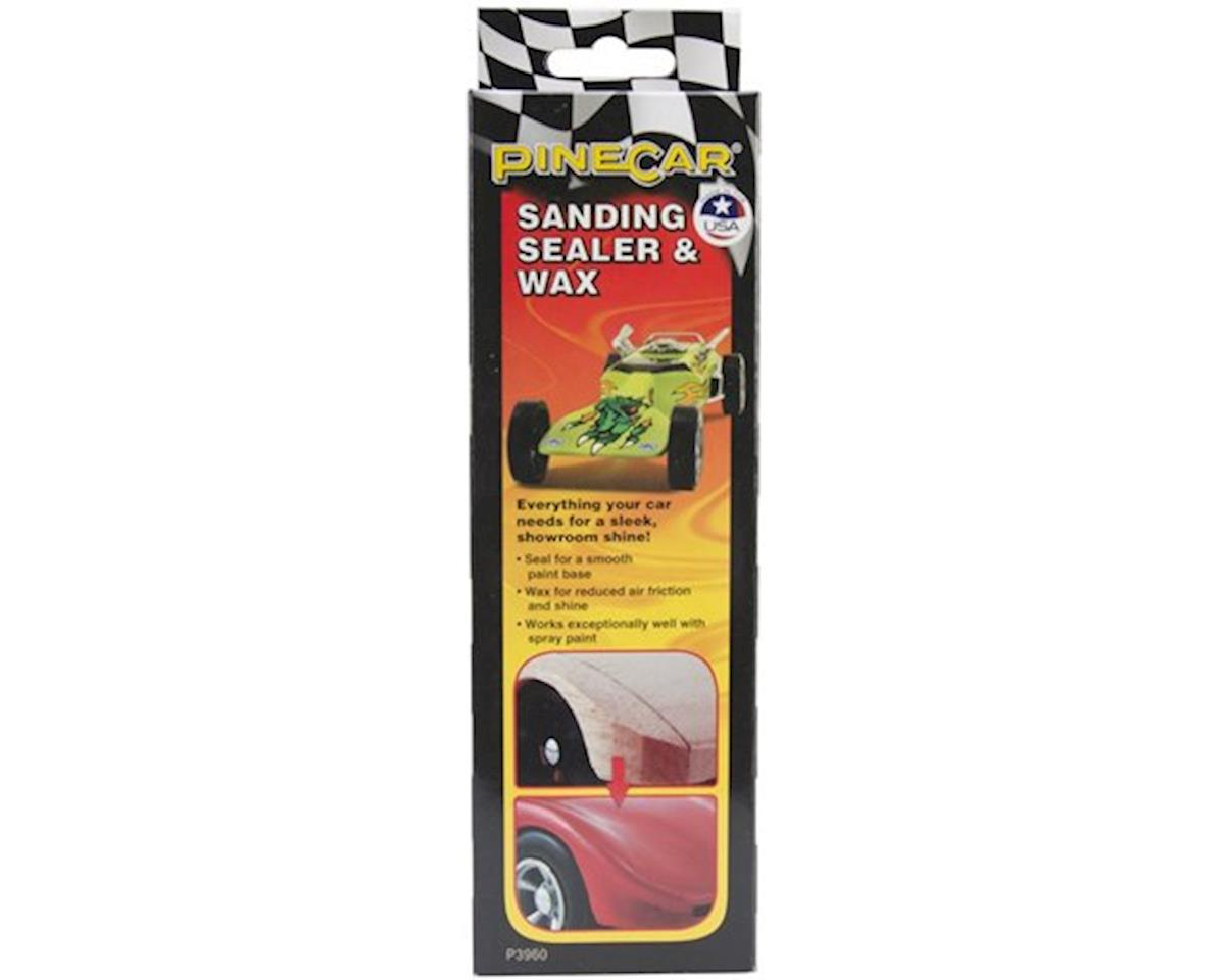 PineCar Sanding Sealer & Wax