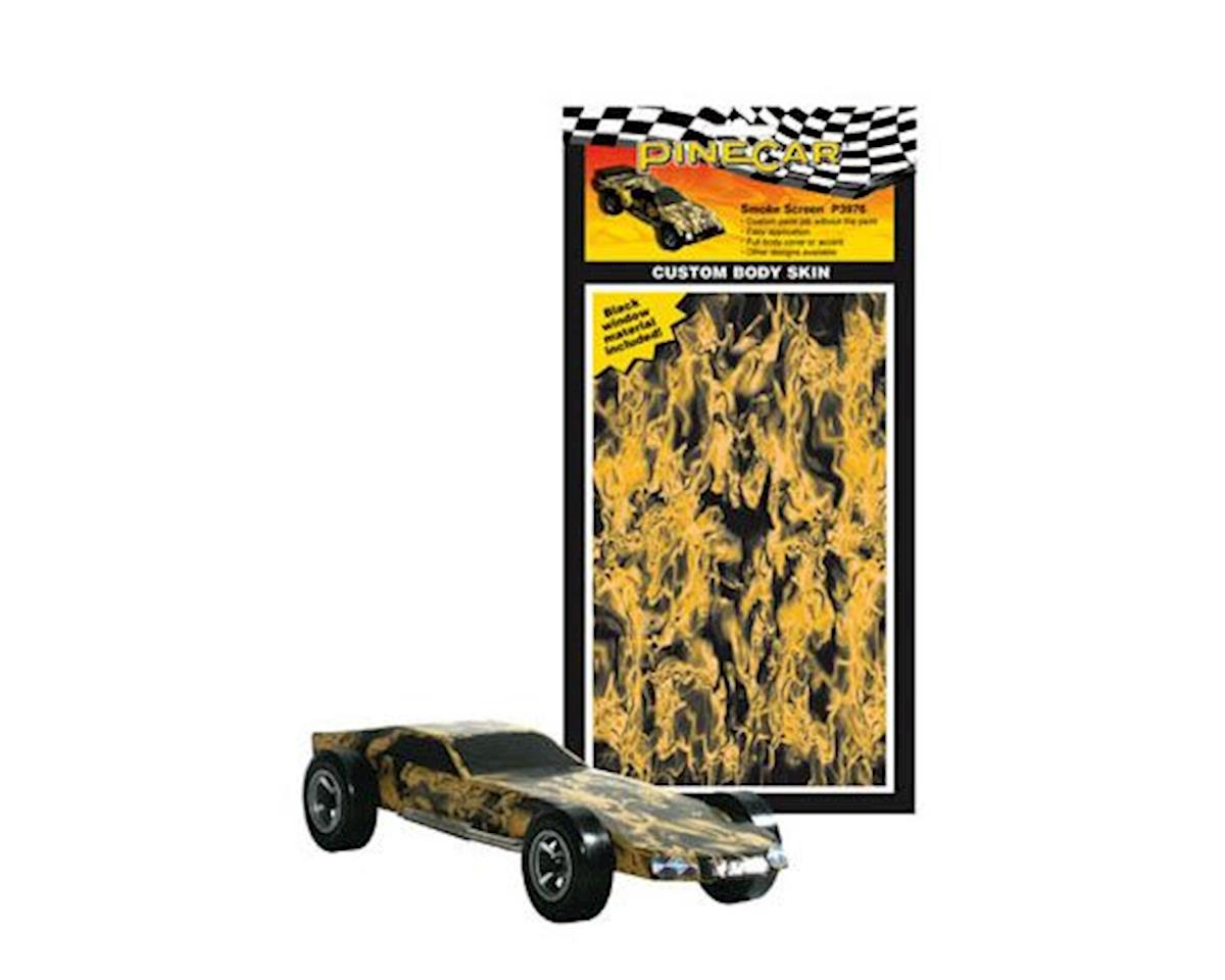 PineCar Smoke Screen Custom Body Skin