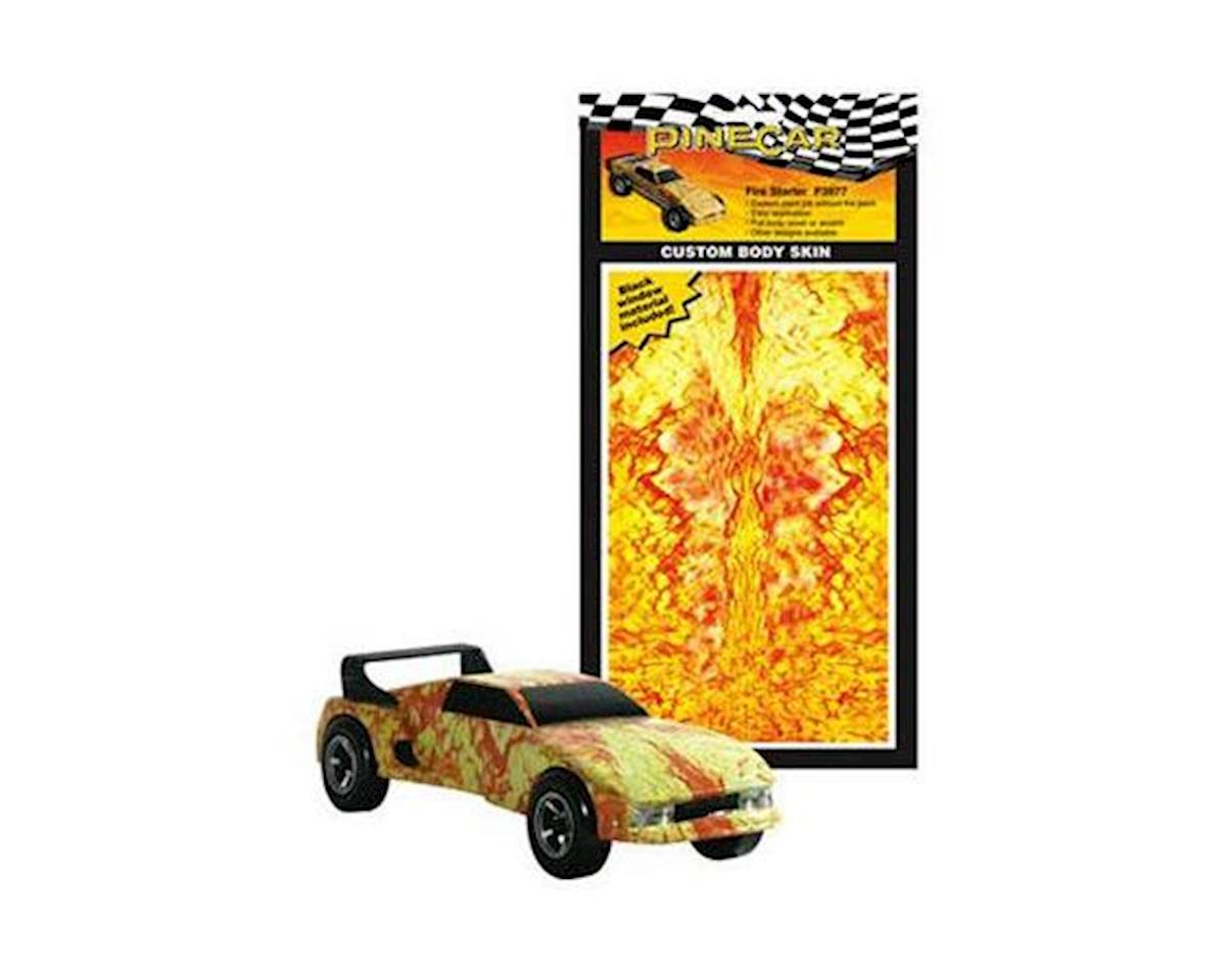 Pinecar Fire Starter Custom Body Skin