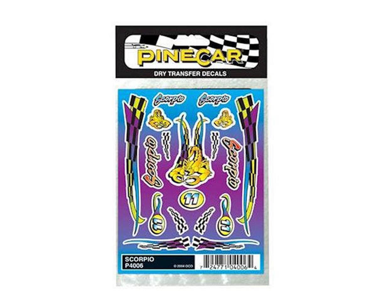 PineCar Scorpio Dry Transfer