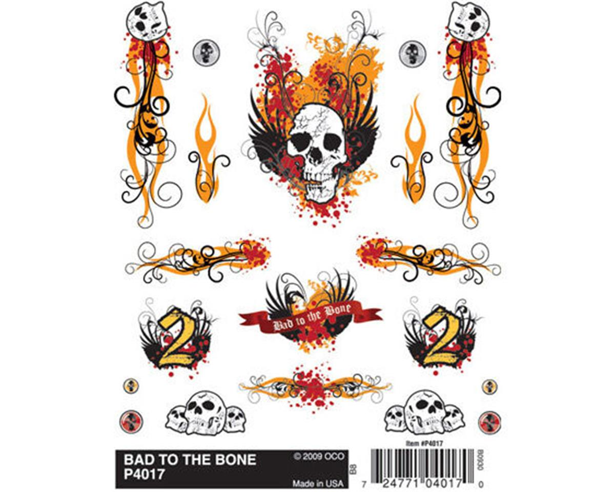 Dry Transfer Decals, Bad To The Bone by PineCar