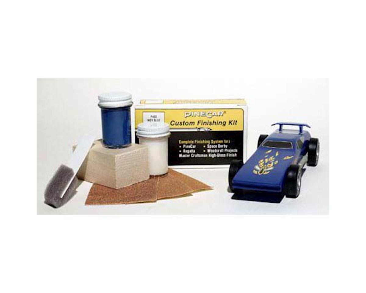 PineCar Finishing Kit,Indy Blue