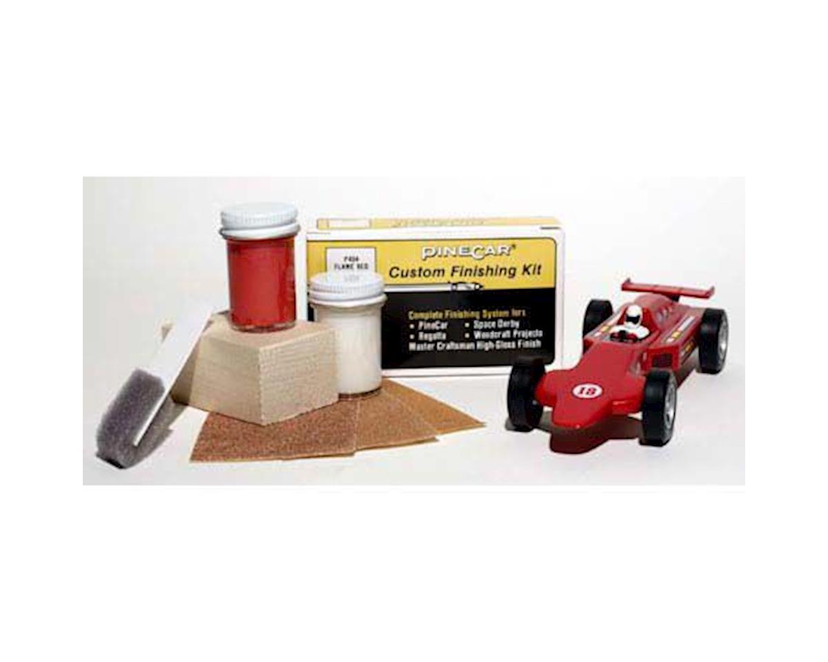 PineCar Finishing Kit,Flame Red